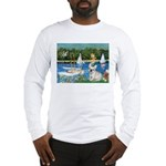 Sailboats / Fr Bulldog(f) Long Sleeve T-Shirt