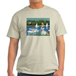 Sailboats / Fr Bulldog(f) Light T-Shirt