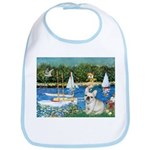 Sailboats / Fr Bulldog(f) Bib