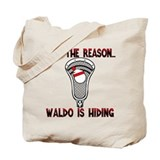 Lacrosse Waldo Tote Bag