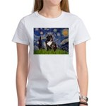 Starry / Fr Bulldog(brin) Women's T-Shirt