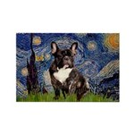 Starry / Fr Bulldog(brin) Rectangle Magnet (10 pac