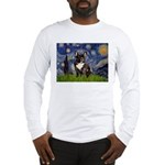 Starry / Fr Bulldog(brin) Long Sleeve T-Shirt