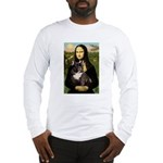 Mona / Fr Bulldog(brin) Long Sleeve T-Shirt