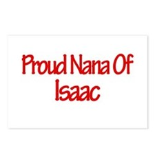 Proud Nana of Isaac Postcards (Package of 8)