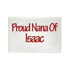 Proud Nana of Isaac Rectangle Magnet