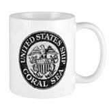 USS CORAL SEA Small Mug