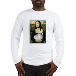 Mona / Fr Bulldog (f) Long Sleeve T-Shirt