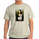 Mona / Fr Bulldog (f) Light T-Shirt
