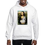 Mona / Fr Bulldog (f) Hooded Sweatshirt