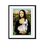 Mona / Fr Bulldog (f) Framed Panel Print