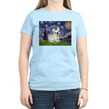 Starry / Fr Bulldog (f) T-Shirt
