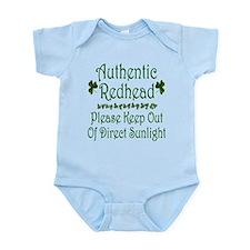 Authentic Redhead... Infant Bodysuit