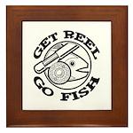 Get Reel Go Fish Framed Tile