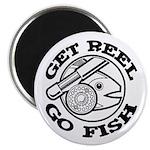 Get Reel Go Fish Magnet