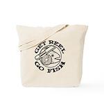 Get Reel Go Fish Tote Bag