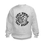 Get Reel Go Fish Kids Sweatshirt