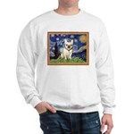 Starry/French Bulldog Sweatshirt
