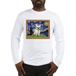 Starry/French Bulldog Long Sleeve T-Shirt