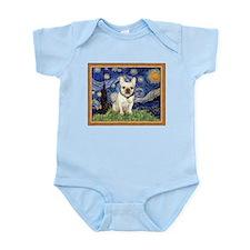 Starry/French Bulldog Infant Bodysuit