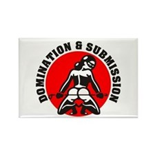 Domination and Submission Rectangle Magnet
