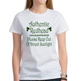 Authentic Redhead... Tee
