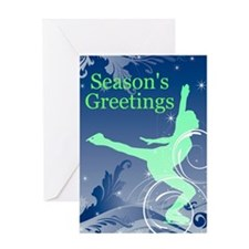Figure Skating Greeting Card