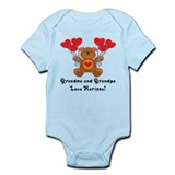 Grandma and Gradpa Love Marissa! Infant Bodysuit