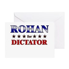ROHAN for dictator Greeting Card