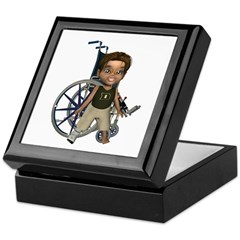Karlo Broken Right Leg Keepsake Box