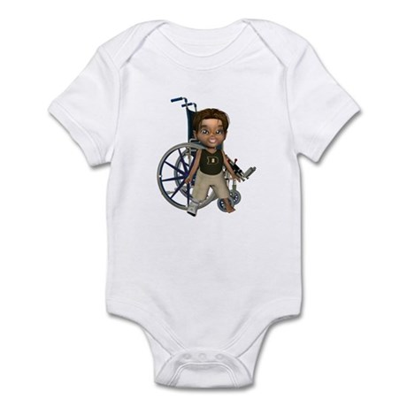 Karlo Broken Right Leg Infant Bodysuit