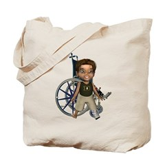 Karlo Broken Left Leg Tote Bag