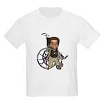 Karlo Broken Left Arm Kids Light T-Shirt