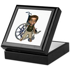 Karlo Broken Right Arm Keepsake Box