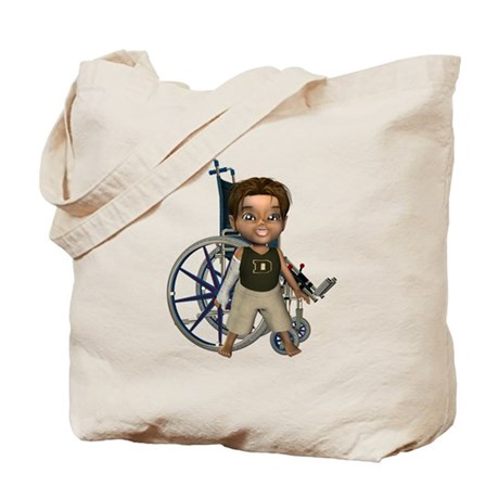 Karlo Broken Right Arm Tote Bag