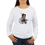 Katrina Broken Left Arm Women's Long Sleeve T-Shir