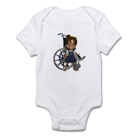 Katrina Broken Left Arm Infant Bodysuit