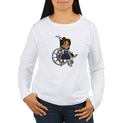 Katrina Broken Left Leg Women's Long Sleeve T-Shir
