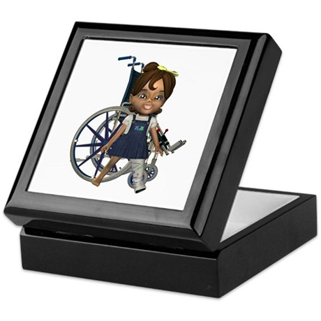 Katrina Broken Left Leg Keepsake Box