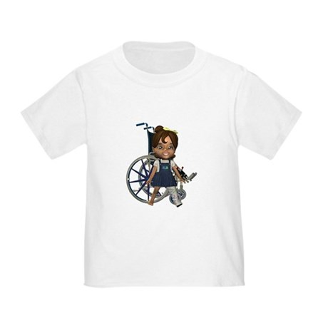 Katrina Broken Left Leg Toddler T-Shirt