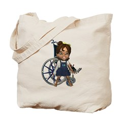 Katrina Broken Right Arm Tote Bag