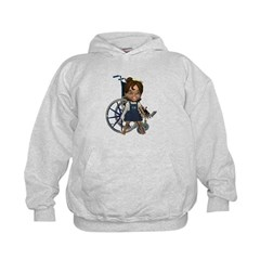 Katrina Broken Right Arm Kids Hoodie