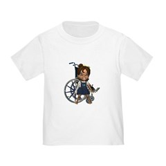 Katrina Broken Right Arm Toddler T-Shirt