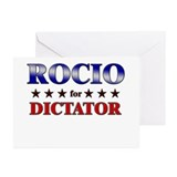 ROCIO for dictator Greeting Cards (Pk of 10)