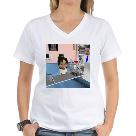 Katrina Sick Women's V-Neck T-Shirt