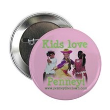 Penney the Clown Button