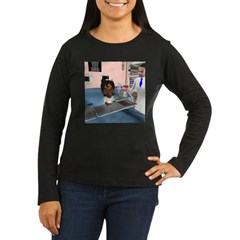 Katy Sick Women's Long Sleeve Dark T-Shirt