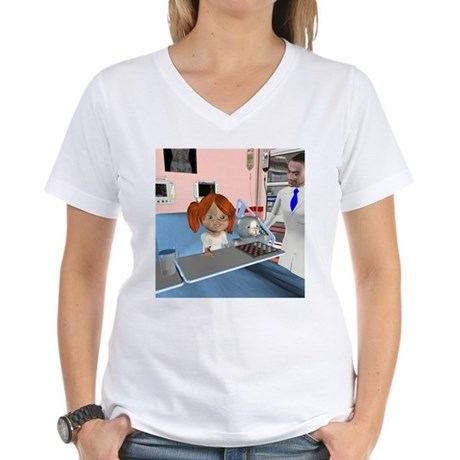 Kit Sick Women's V-Neck T-Shirt