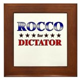 ROCCO for dictator Framed Tile