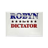 ROBYN for dictator Rectangle Magnet (10 pack)